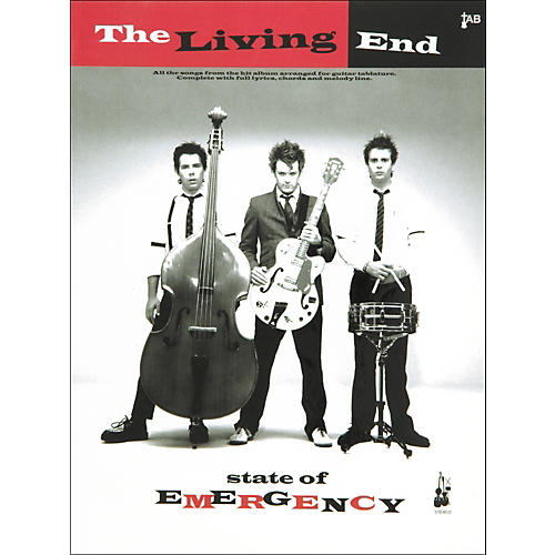 Music Sales The Living End State Of Emergency Guitar Tab Songbook-thumbnail
