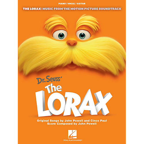 Hal Leonard The Lorax - Music From The Motion Picture for Piano/Vocal/Guitar
