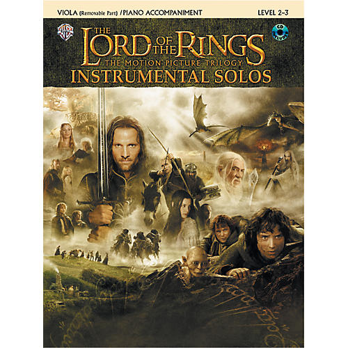 Alfred The Lord of the Rings Instrumental Solos for Strings Viola Book (with Piano Acc.) & CD-thumbnail