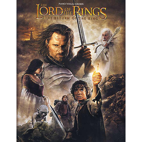 Alfred The Lord of the Rings The Return of the King Piano/Vocal/Chords Book