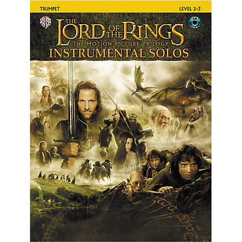 Alfred The Lord of the Rings Trumpet Instrumental Solos Book & CD-thumbnail