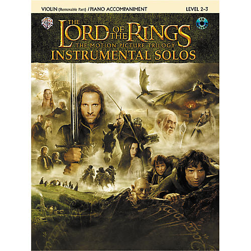 Alfred The Lord of the Rings Violin Instrumental Solos for Strings-thumbnail