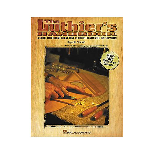 Hal Leonard The Luthier's (Handbook)-thumbnail