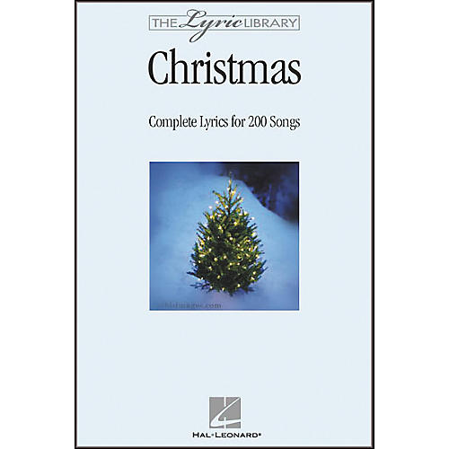 Hal Leonard The Lyric Library: Christmas Book-thumbnail
