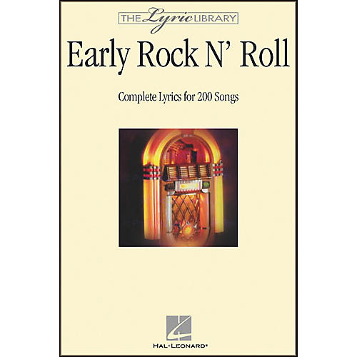 Hal Leonard The Lyric Library: Early Rock 'N' Roll Book-thumbnail