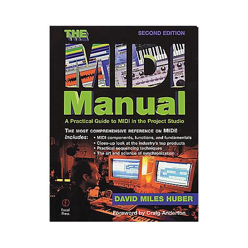 Hal Leonard The MIDI Manual 2nd Edition Book-thumbnail