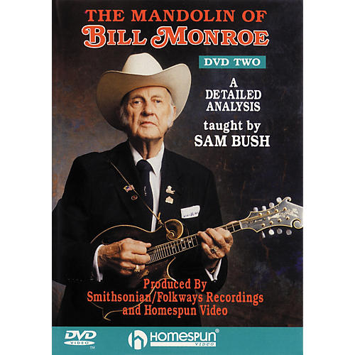 Homespun The Mandolin of Bill Monroe 2 (DVD)-thumbnail