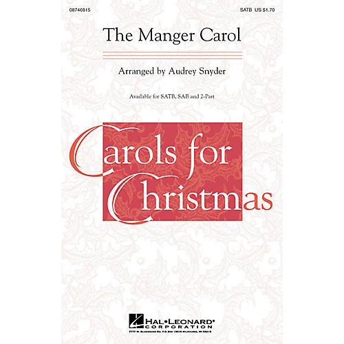Hal Leonard The Manger Carol SAB Arranged by Audrey Snyder