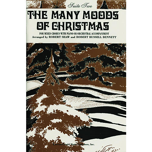 Alfred The Many Moods of Christmas Suite 2 SATB-thumbnail
