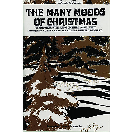 Alfred The Many Moods of Christmas Suite 3 SATB-thumbnail