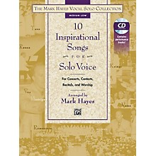 Alfred The Mark Hayes Vocal Solo Collection 10 Inspirational Songs Solo Voice Medium Low Bk & Acc.CD