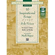Alfred The Mark Hayes Vocal Solo Collection: 10 Inspirational Songs for Solo Voice Medium High Acc. CD