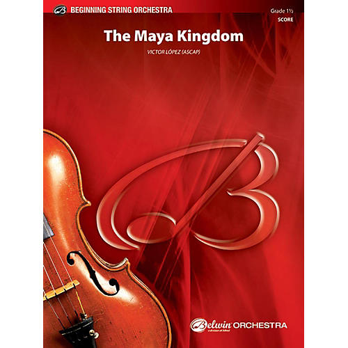 Alfred The Maya Kingdom String Orchestra Grade 1.5 Set-thumbnail
