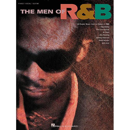Hal Leonard The Men of R'n'B Piano/Vocal/Guitar Songbook
