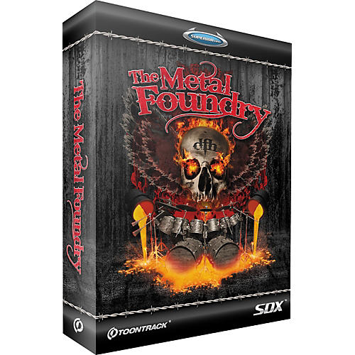 Toontrack The Metal Foundry SDX Expansion Pack-thumbnail