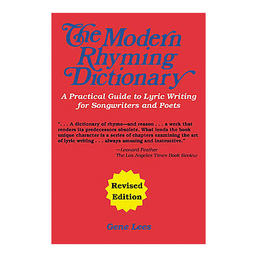 Cherry Lane The Modern Rhyming Dictionary - Revised Edition Book-thumbnail