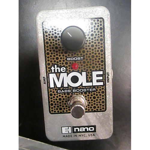 Electro-Harmonix The Mole Bass Booster Bass Effect Pedal-thumbnail