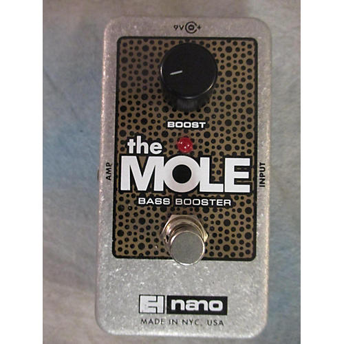 Electro-Harmonix The Mole Bass Booster Bass Effect Pedal-thumbnail