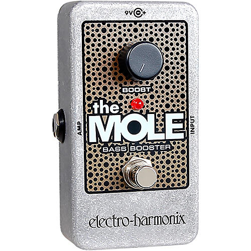 Electro-Harmonix The Mole Bass Booster Effects Pedal-thumbnail