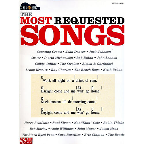 Hal Leonard The Most Requested Songs - Strum & Sing Series songbook-thumbnail