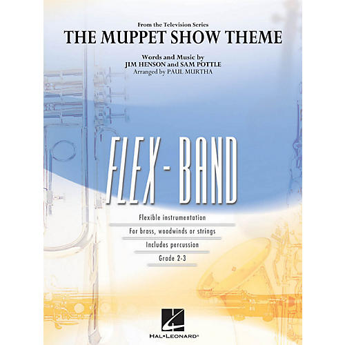 Hal Leonard The Muppet Show Theme - Flex-Band Series-thumbnail