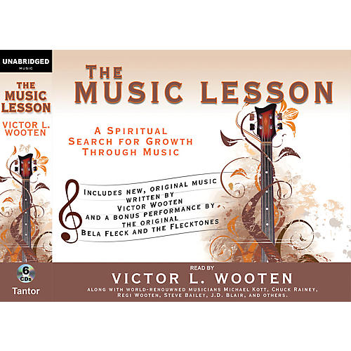 Alfred The Music Lesson by Victor Wooten Audio Book Version - 6 CDs-thumbnail