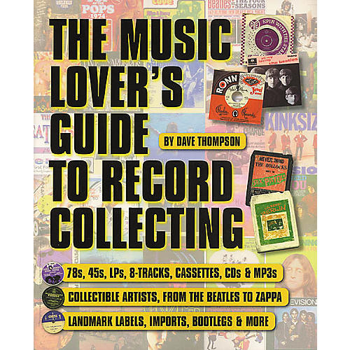 Backbeat Books The Music Lover's Guide to Record Collecting Book-thumbnail