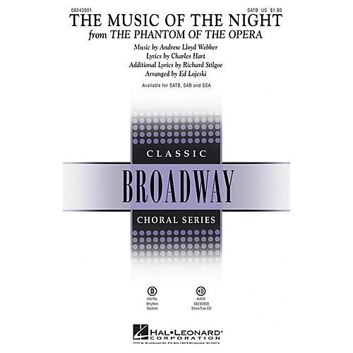 Hal Leonard The Music of the Night (from The Phantom of the Opera) SATB arranged by Ed Lojeski