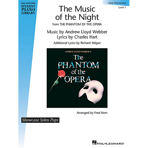 Hal Leonard The Music of the Night (from The Phantom of the Opera) by Andrew Lloyd Webber (Level Early Elem)
