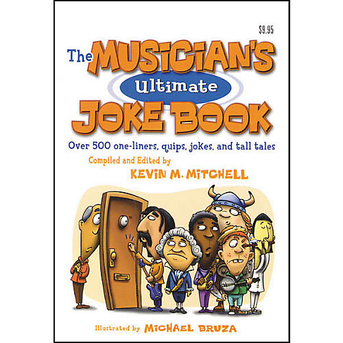 Hal Leonard The Musician's Ultimate Joke Book-thumbnail