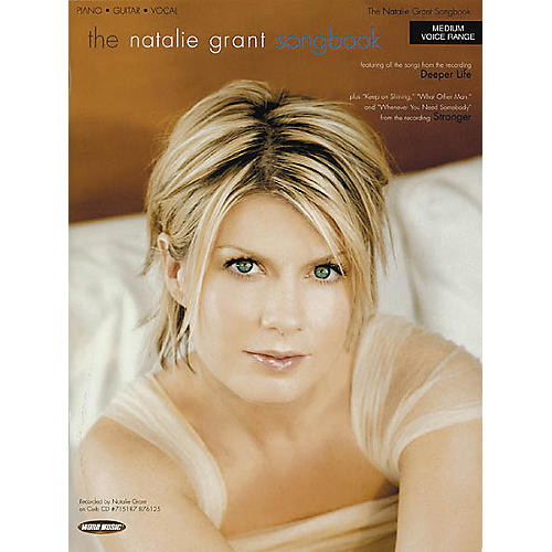 Word Music The Natalie Grant Songbook Piano, Vocal, Guitar Songbook-thumbnail
