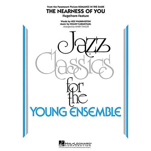 Hal Leonard The Nearness Of You (Flugelhorn Feature) Jazz Band Level 3
