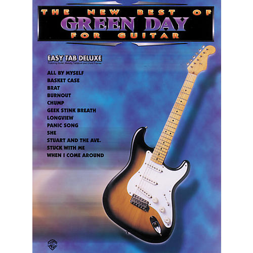 Alfred The New Best of Green Day for Guitar Tab Book-thumbnail