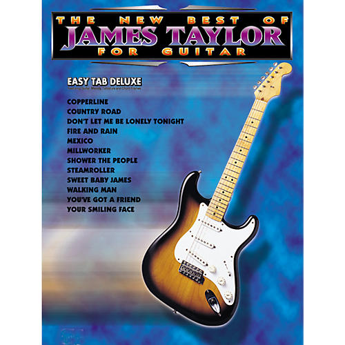alfred the new best of james taylor for guitar tab book guitar center. Black Bedroom Furniture Sets. Home Design Ideas