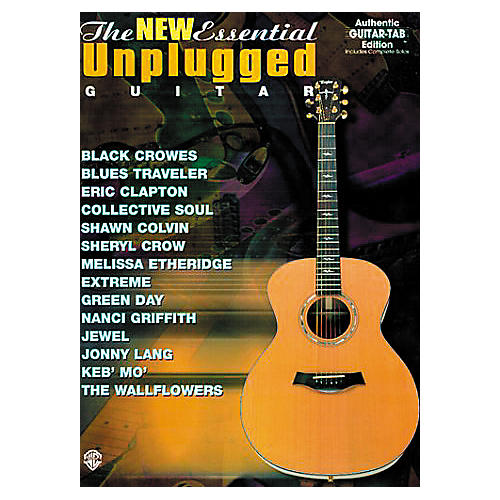 Alfred The New Essential Unplugged Guitar Book-thumbnail