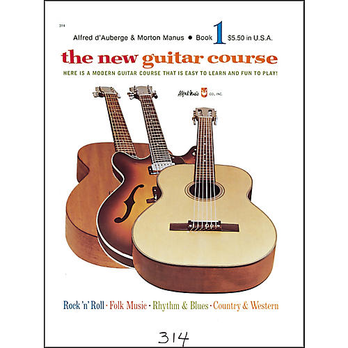Alfred The New Guitar Course Book 1-thumbnail