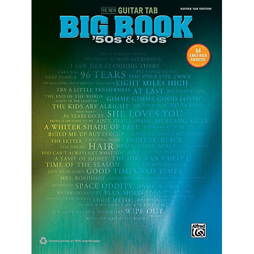 Alfred The New Guitar TAB Big Book  '50s & '60s