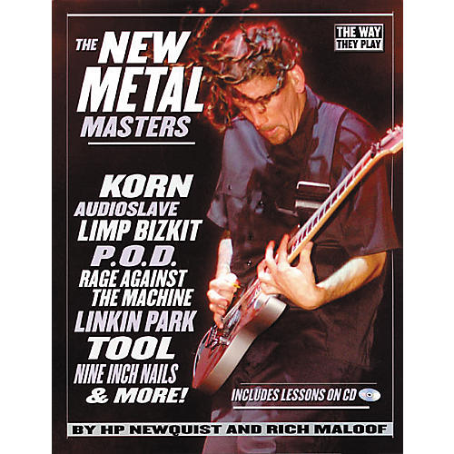 Backbeat Books The New Metal Masters (Book/CD)-thumbnail