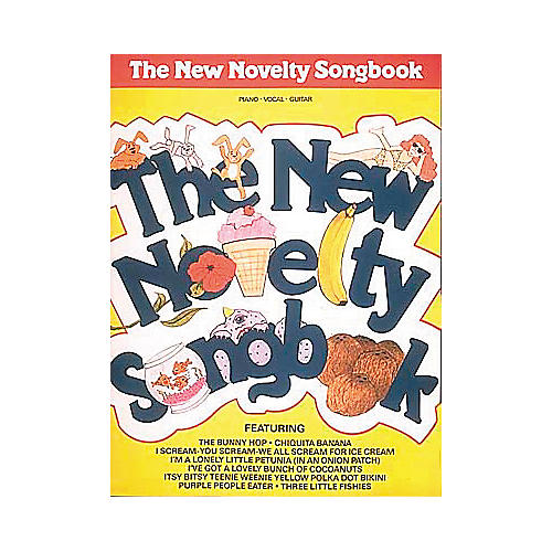 Hal Leonard The New Novelty Piano, Vocal, Guitar Songbook