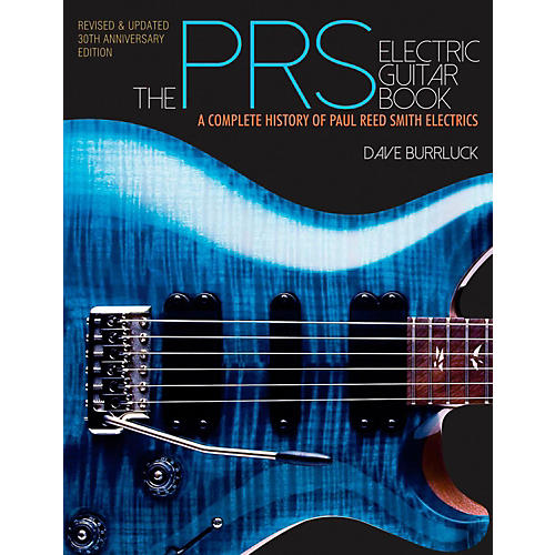 Hal Leonard The PRS Guitar Book - A Complete History Of Paul Reed Smith Guitars-thumbnail