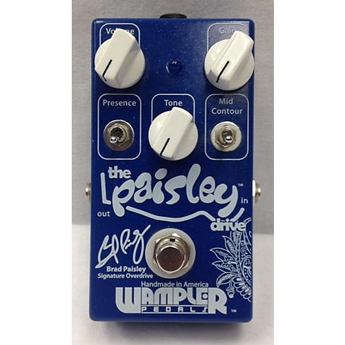 Wampler The Paisley Drive Effect Pedal-thumbnail