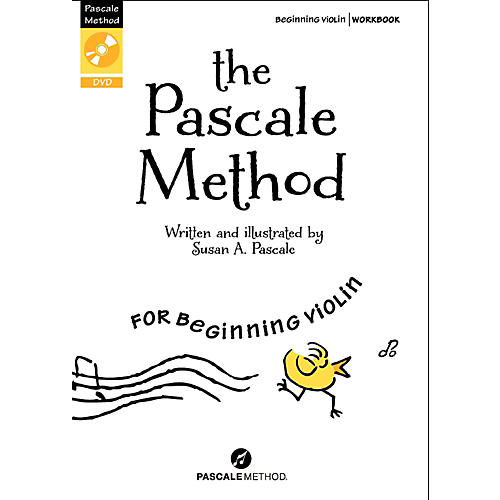 Alfred The Pascale Method for Beginning Violin Book & DVD-thumbnail
