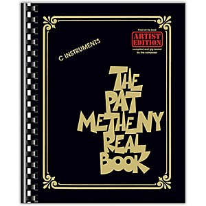 Hal Leonard The Pat Metheny Real Book - Fake Book Series