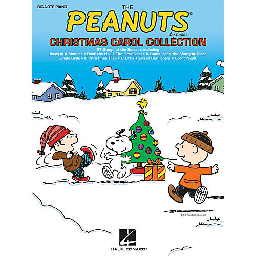 Hal Leonard The Peanuts Christmas Carol Collection For Big-Note Piano-thumbnail