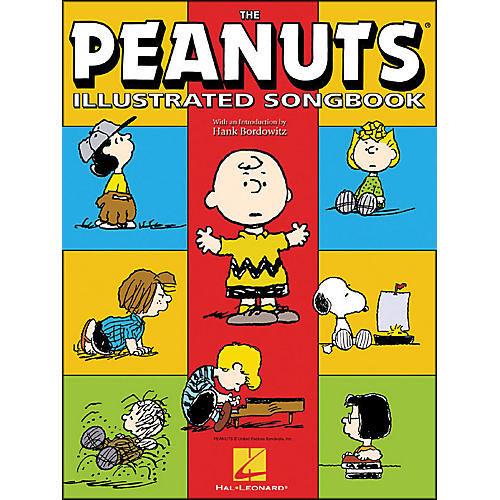 Hal Leonard The Peanuts Illustrated Songbook arranged for piano solo-thumbnail