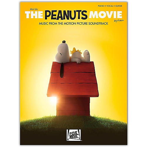 Hal Leonard The Peanuts Movie - Music from the Motion Picture Soundtrack  Piano/Vocal/Guitar Songbook-thumbnail