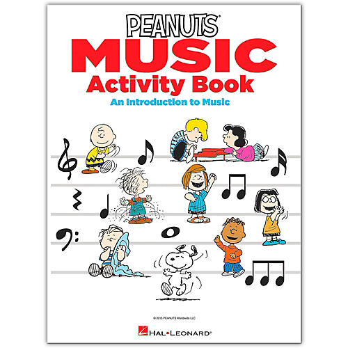 Hal Leonard The Peanuts Music Activity Book - An Introduction to Music-thumbnail