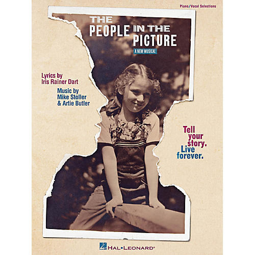 Hal Leonard The People In The Picture - Broadway Vocal Selections-thumbnail