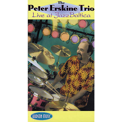 Hudson Music The Peter Erskine Trio - Live at Jazz Baltica (VHS)-thumbnail