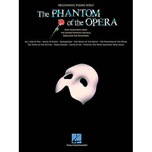Hal Leonard The Phantom Of The Opera - Beginning Piano Solo Songbook-thumbnail